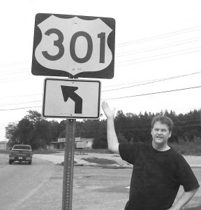 Standing by a 301 Redirect Sign