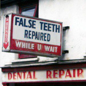 Dental Office - False Teeth Repaired