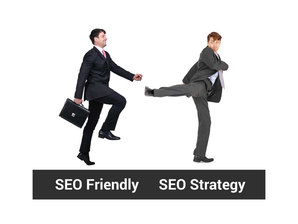 SEO Friendly Guy vs Strategic SEO Guy