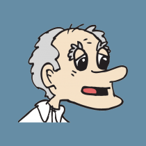 My site was attacked cartoon face