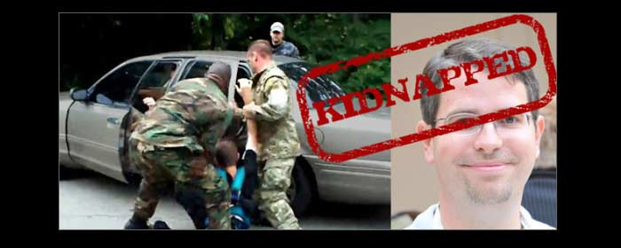 Matt Cutts Being Thrown into Car by Kidnappers