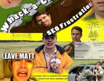 Matt Cutts Link Bait Montage