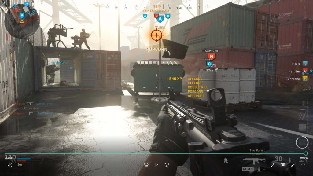 SEO lessons learned from Call of Duty - Modern Warfare Screen Cap