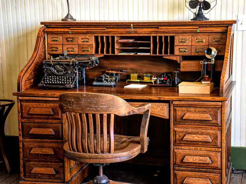Old Office Desk