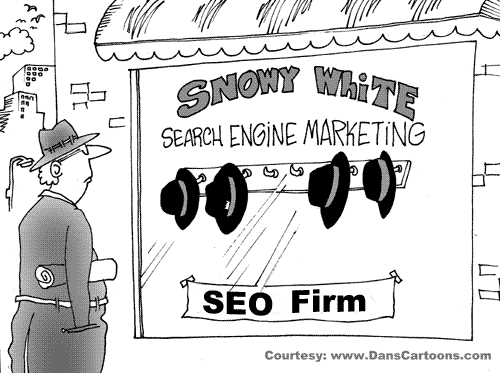 SEO Firm Hat Rack
