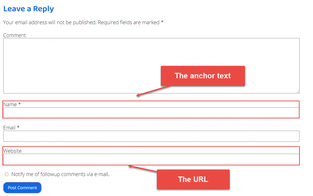 How sleazy SEOs can abuse your WordPress comment form to post spam